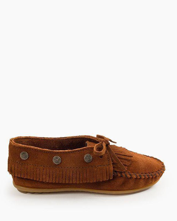 Fringed Moc Brown