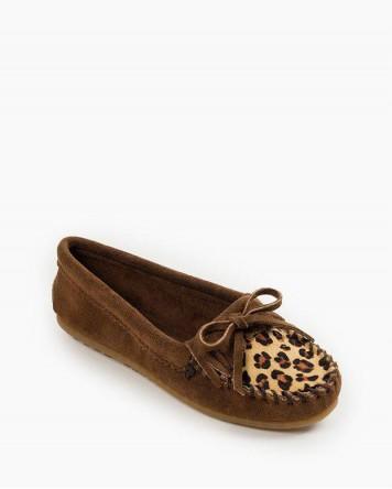 Leopard Kilty Dusty Brown