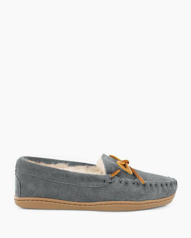 Sheepskin Hardsole Moc Grey