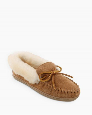 Alpine Sheepskin Moc Tan