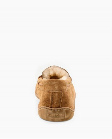 Sheepskin Hardsole Moccasin Tan