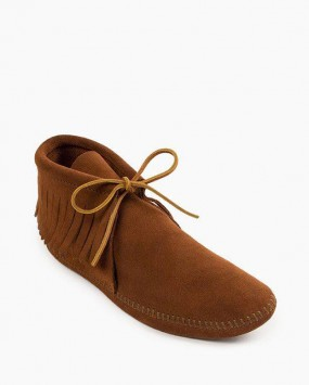 Classic Fringe Softsole Boot Brown