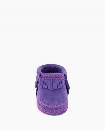 Riley Bootie Purple