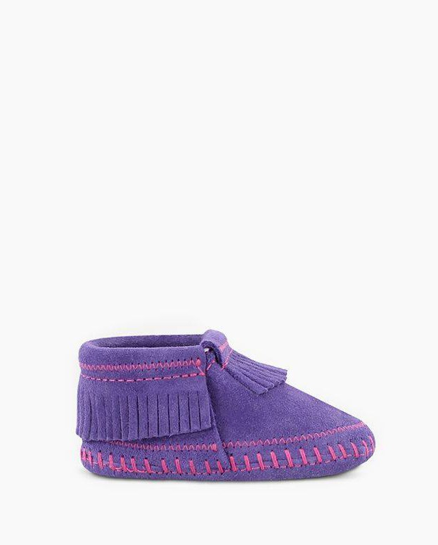 Riley Bootie Purple