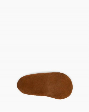 Front Strap Bootie Softsole Brown