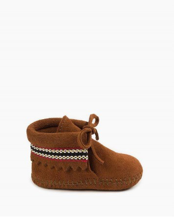 Braid Bootie Brown