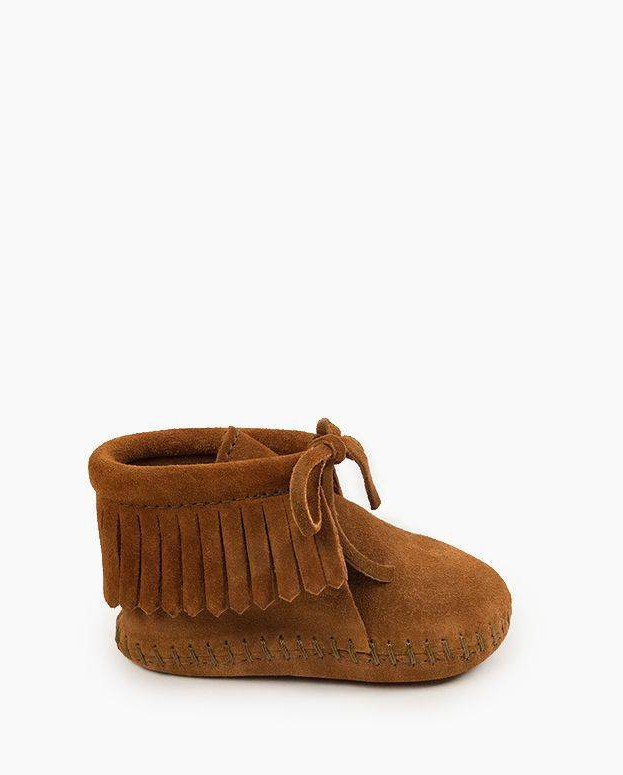 Fringe Bootie Brown