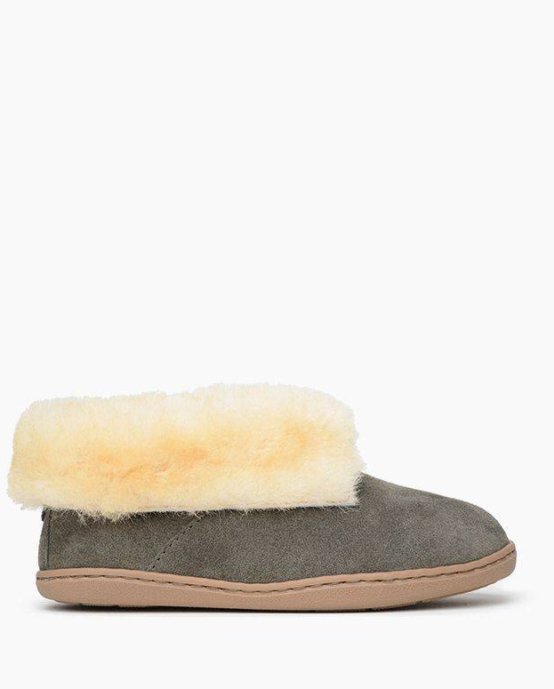 Sheepskin Ankle Boot Grey
